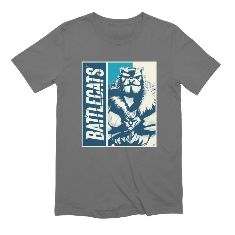 Battlecats - Kelthan Men's Extra Soft T-Shirt by Mad Cave Studios's Artist Shop