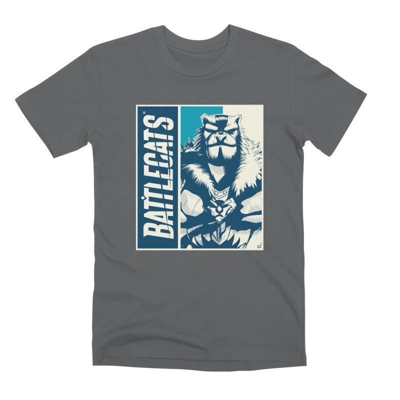 Battlecats - Kelthan Men's Premium T-Shirt by Mad Cave Studios's Artist Shop