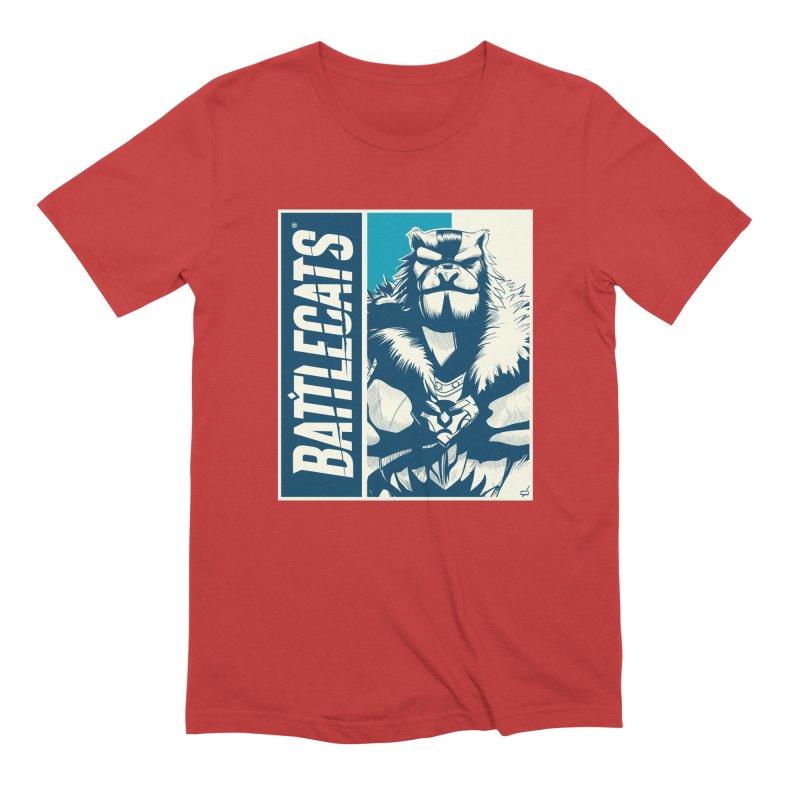 Battlecats - Kelthan Men's Extra Soft T-Shirt by MadCaveStudios's Artist Shop