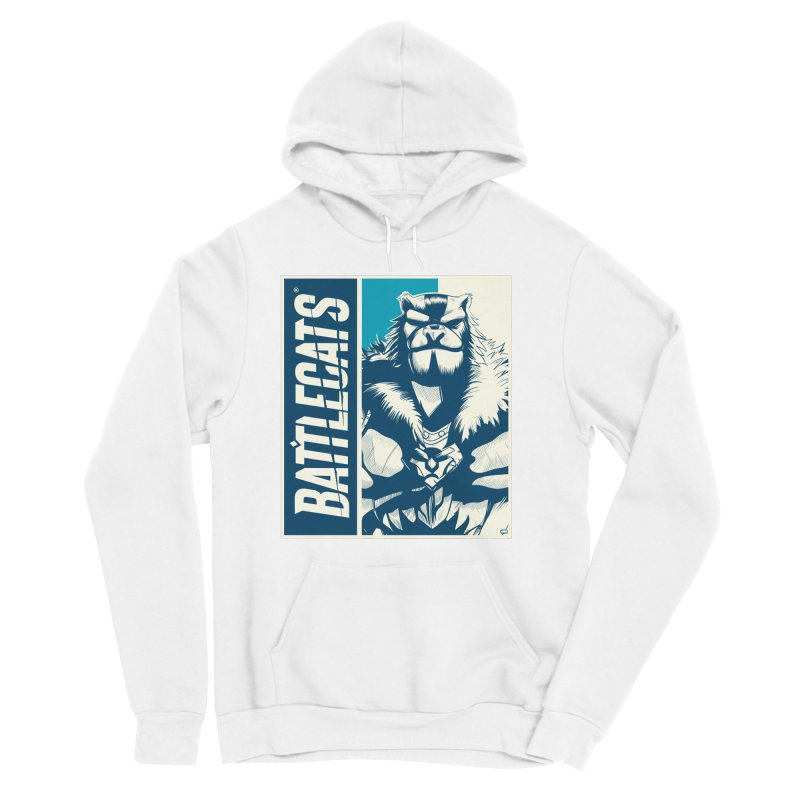 Battlecats - Kelthan Men's Sponge Fleece Pullover Hoody by Mad Cave Studios's Artist Shop