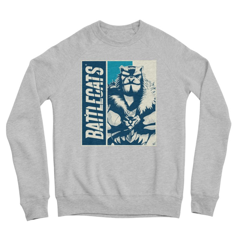 Battlecats - Kelthan Women's Sponge Fleece Sweatshirt by MadCaveStudios's Artist Shop