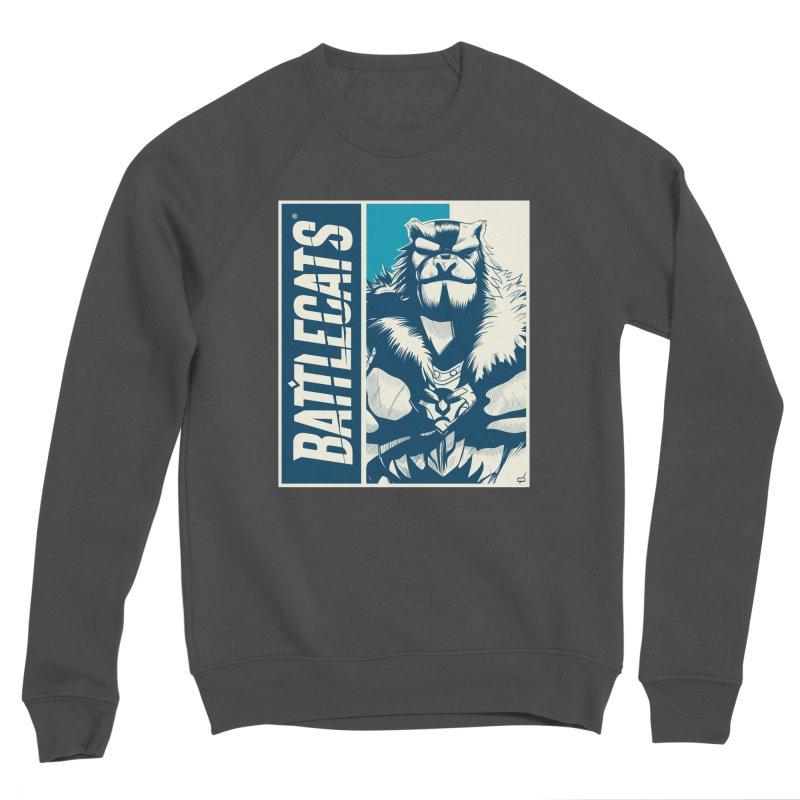 Battlecats - Kelthan Women's Sponge Fleece Sweatshirt by Mad Cave Studios's Artist Shop