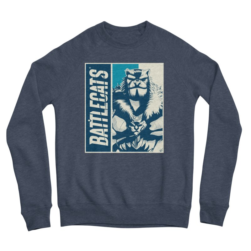 Battlecats - Kelthan Women's Sponge Fleece Sweatshirt by Mad Cave Studios's Artist Shop