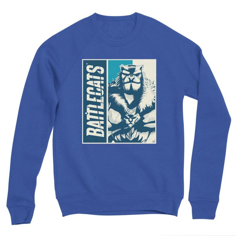 Battlecats - Kelthan Men's Sponge Fleece Sweatshirt by Mad Cave Studios's Artist Shop