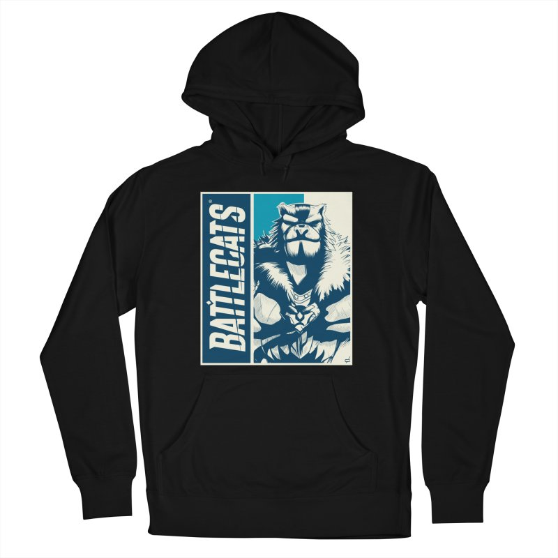 Battlecats - Kelthan Women's French Terry Pullover Hoody by MadCaveStudios's Artist Shop