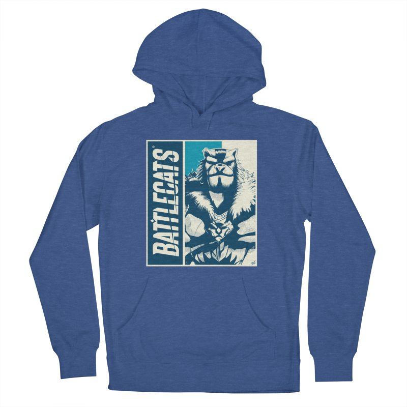 Battlecats - Kelthan Men's French Terry Pullover Hoody by Mad Cave Studios's Artist Shop