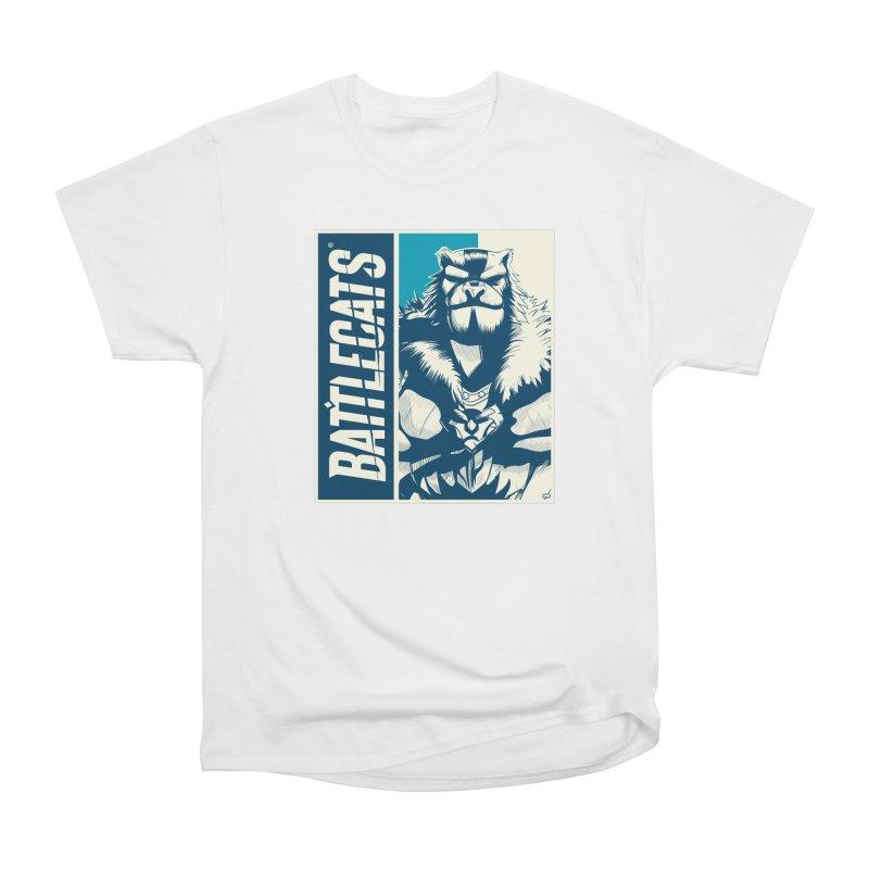 Battlecats - Kelthan Women's Heavyweight Unisex T-Shirt by Mad Cave Studios's Artist Shop