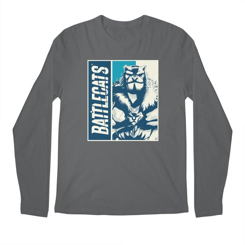 Battlecats - Kelthan Men's Regular Longsleeve T-Shirt by Mad Cave Studios's Artist Shop