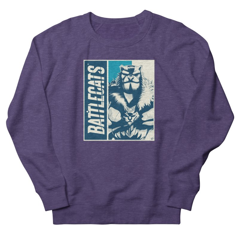 Battlecats - Kelthan Women's French Terry Sweatshirt by Mad Cave Studios's Artist Shop