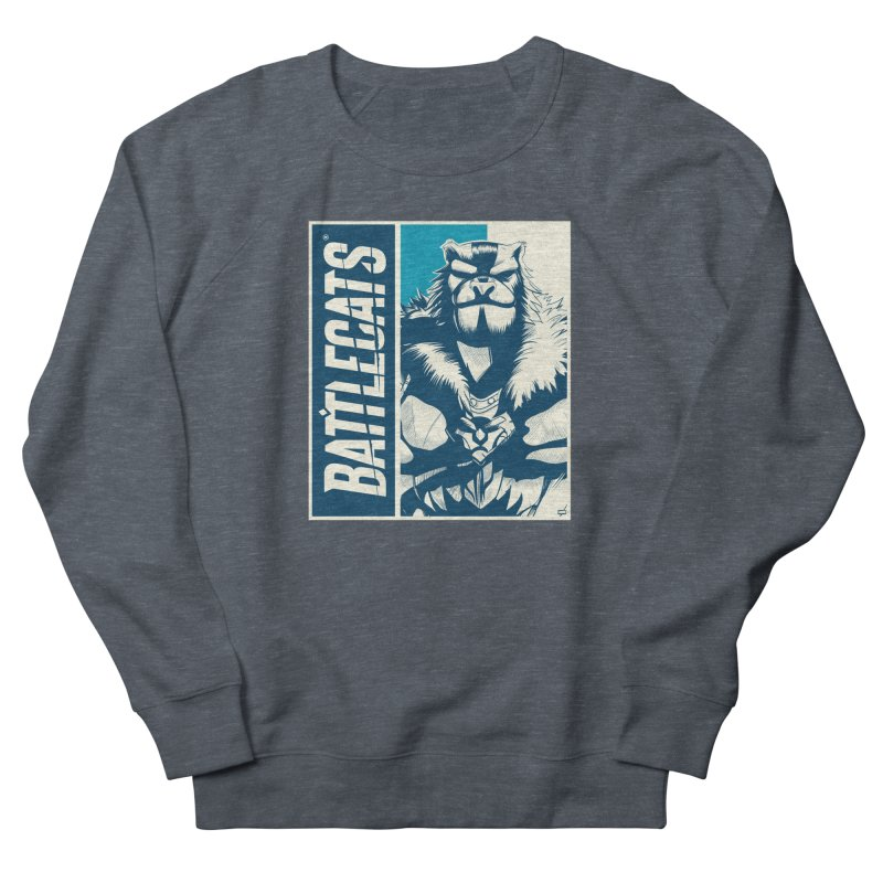 Battlecats - Kelthan Men's French Terry Sweatshirt by Mad Cave Studios's Artist Shop