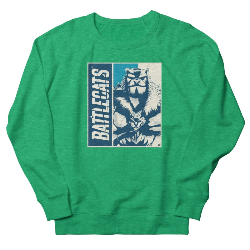 Battlecats - Kelthan Men's French Terry Sweatshirt by MadCaveStudios's Artist Shop