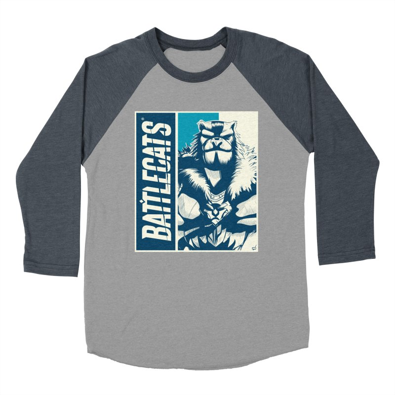 Battlecats - Kelthan Men's Baseball Triblend Longsleeve T-Shirt by Mad Cave Studios's Artist Shop