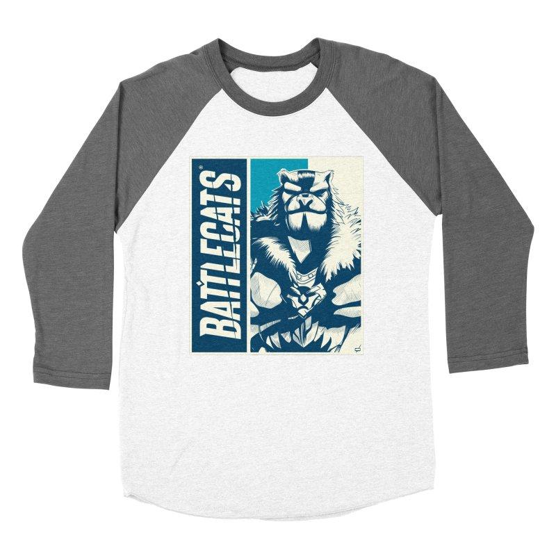 Battlecats - Kelthan Men's Baseball Triblend Longsleeve T-Shirt by Mad Cave Studios's Artist Shop