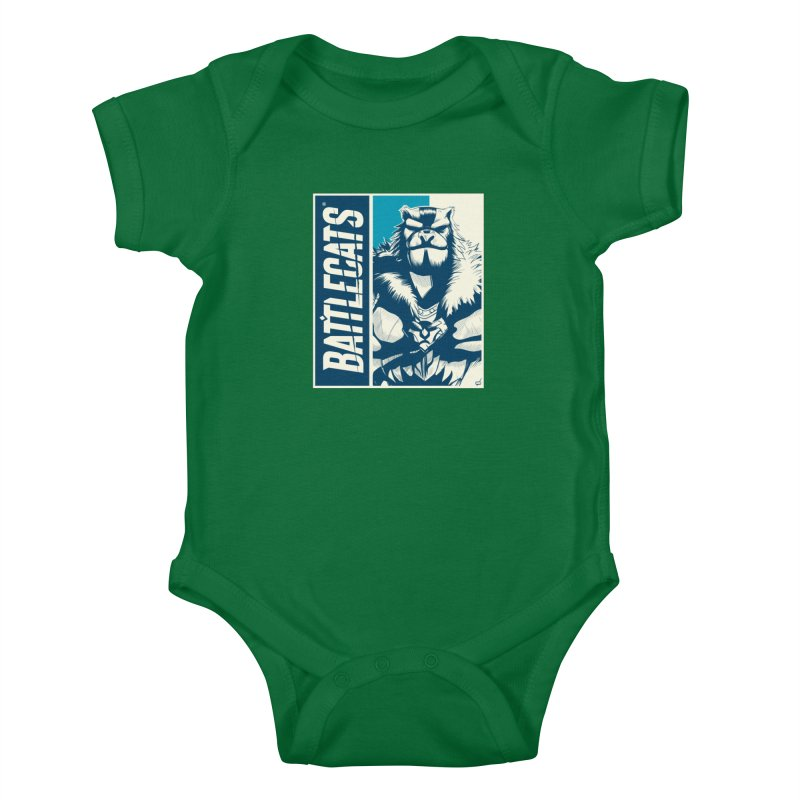 Battlecats - Kelthan Kids Baby Bodysuit by Mad Cave Studios's Artist Shop