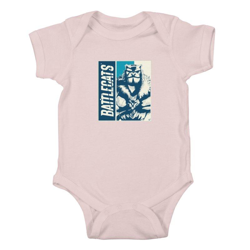 Battlecats - Kelthan Kids Baby Bodysuit by MadCaveStudios's Artist Shop