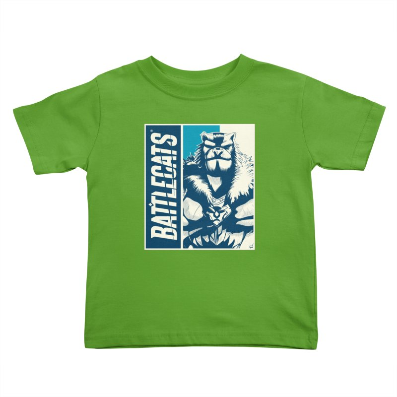 Battlecats - Kelthan Kids Toddler T-Shirt by Mad Cave Studios's Artist Shop