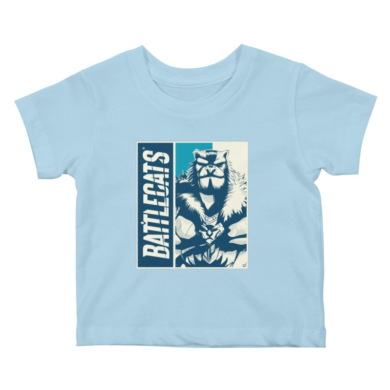 Battlecats - Kelthan Kids Baby T-Shirt by Mad Cave Studios's Artist Shop