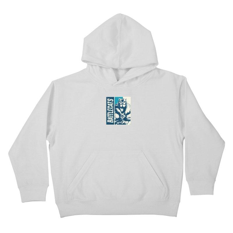 Battlecats - Kelthan Kids Pullover Hoody by Mad Cave Studios's Artist Shop