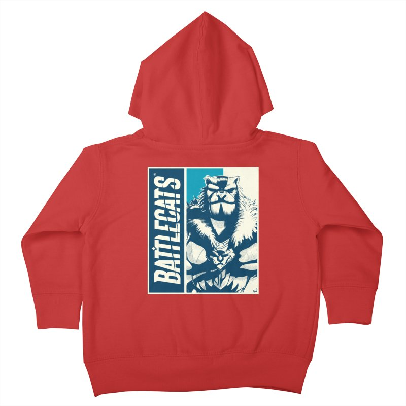 Battlecats - Kelthan Kids Toddler Zip-Up Hoody by Mad Cave Studios's Artist Shop