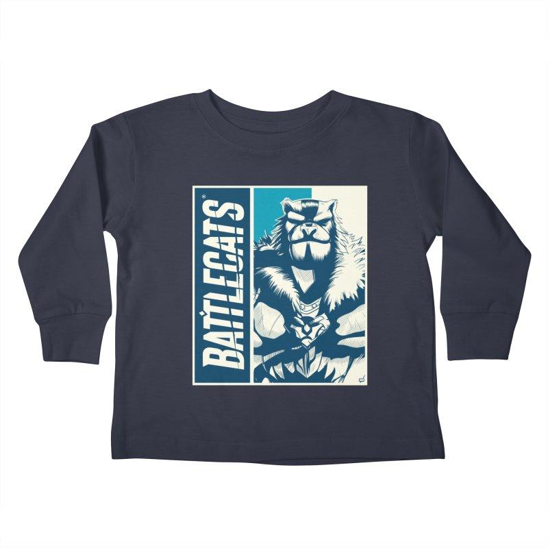 Battlecats - Kelthan Kids Toddler Longsleeve T-Shirt by Mad Cave Studios's Artist Shop