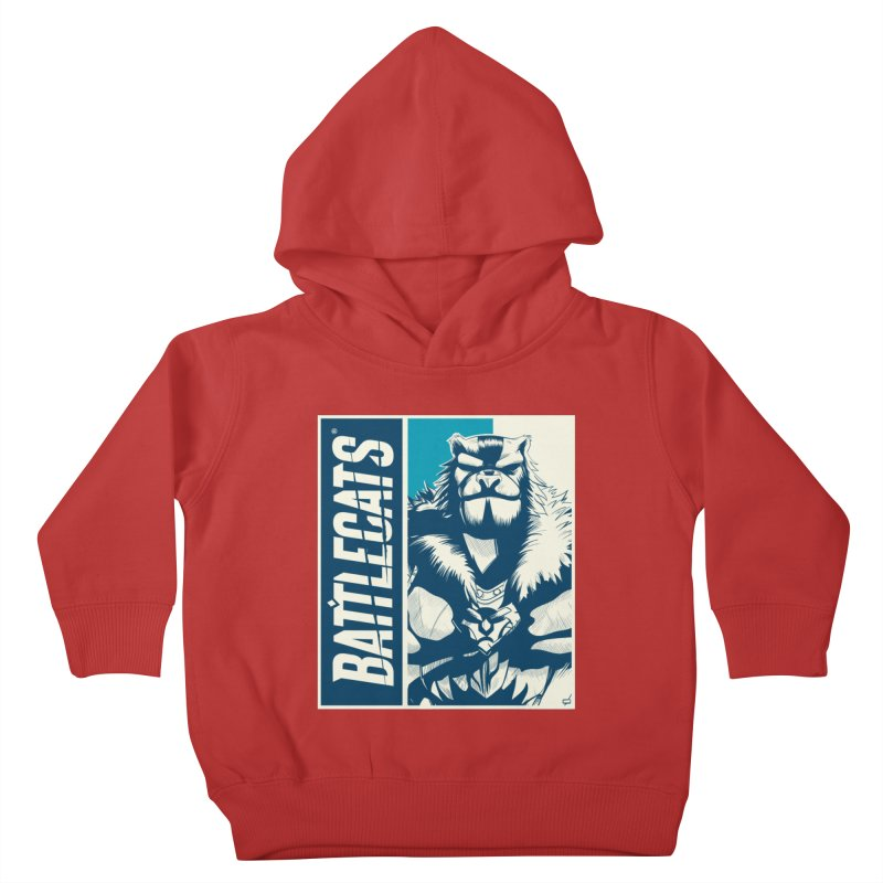 Battlecats - Kelthan Kids Toddler Pullover Hoody by Mad Cave Studios's Artist Shop