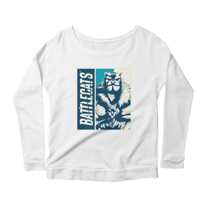 Battlecats - Kelthan Women's Scoop Neck Longsleeve T-Shirt by Mad Cave Studios's Artist Shop
