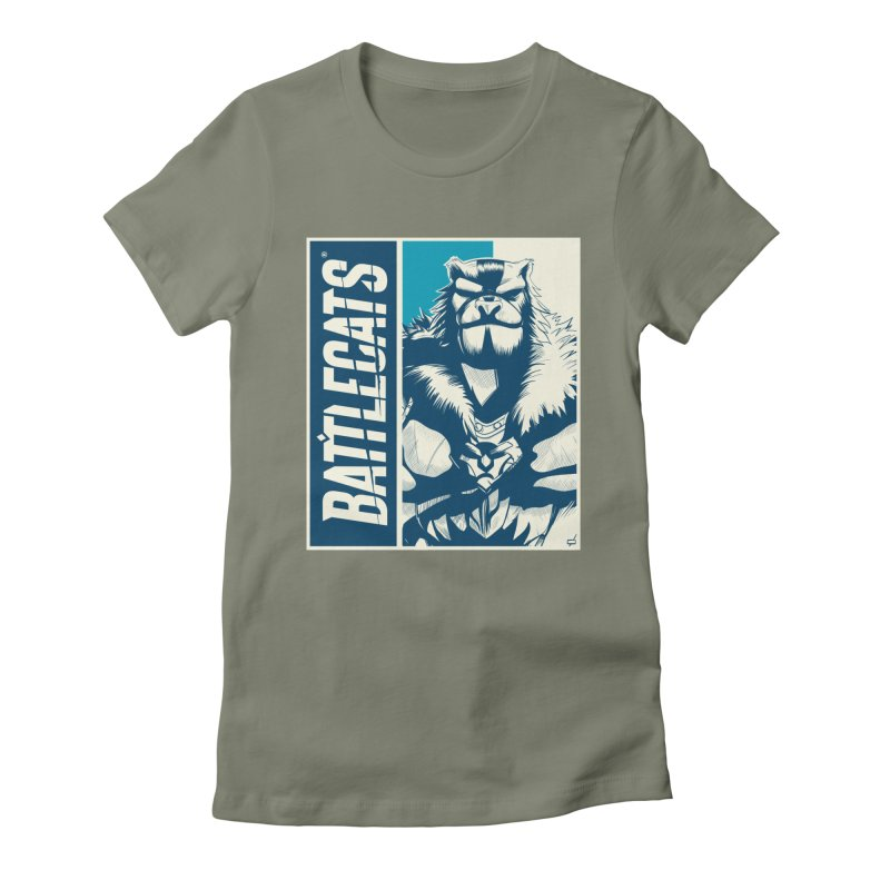 Battlecats - Kelthan Women's Fitted T-Shirt by Mad Cave Studios's Artist Shop