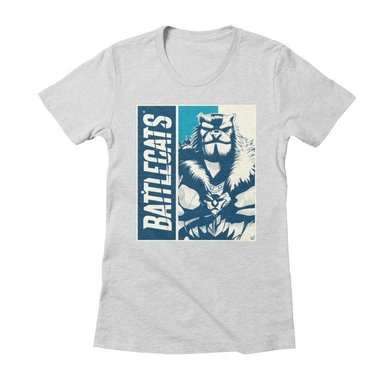 Battlecats - Kelthan Women's Fitted T-Shirt by MadCaveStudios's Artist Shop