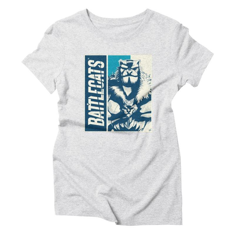 Battlecats - Kelthan Women's Triblend T-Shirt by Mad Cave Studios's Artist Shop