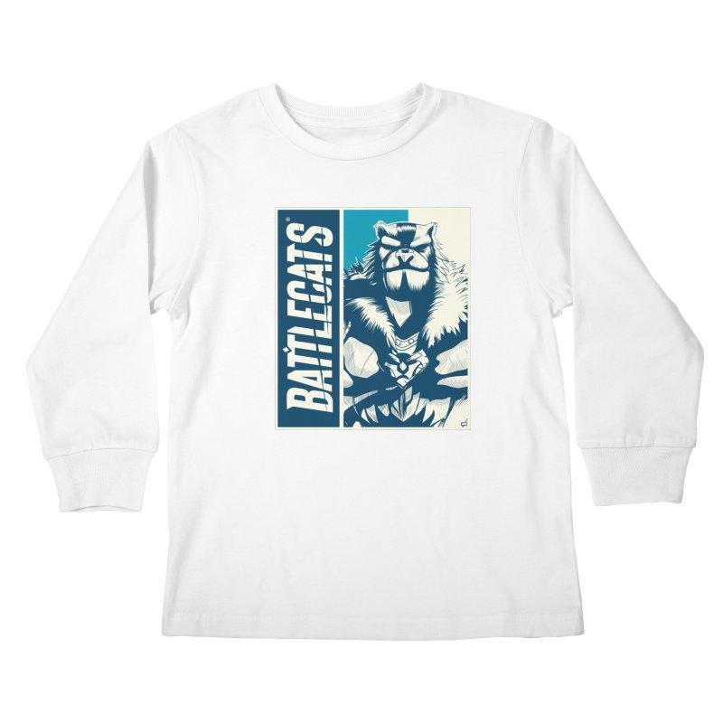 Battlecats - Kelthan Kids Longsleeve T-Shirt by MadCaveStudios's Artist Shop