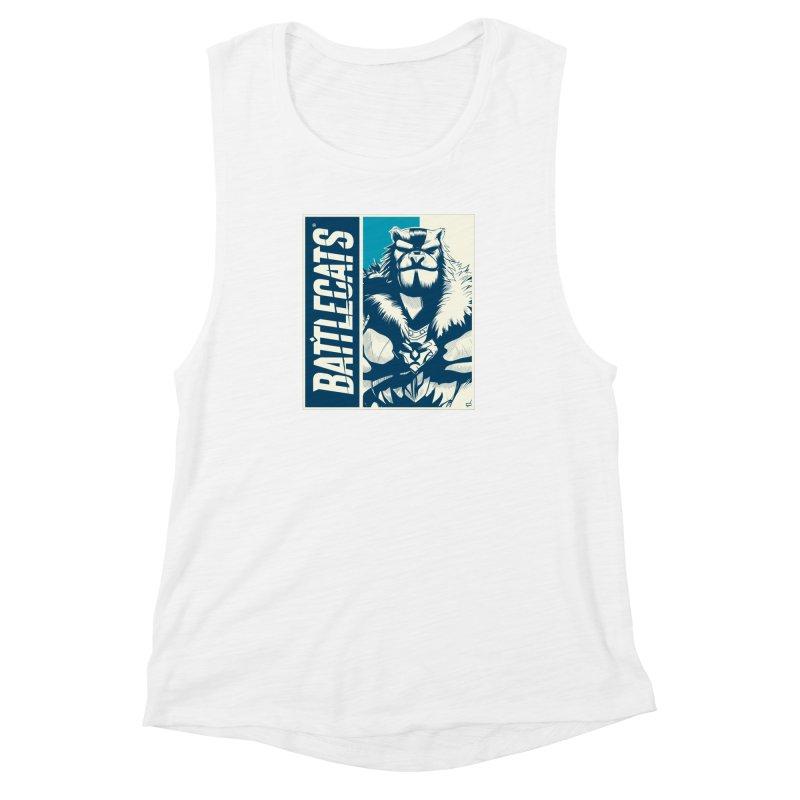 Battlecats - Kelthan Women's Muscle Tank by Mad Cave Studios's Artist Shop