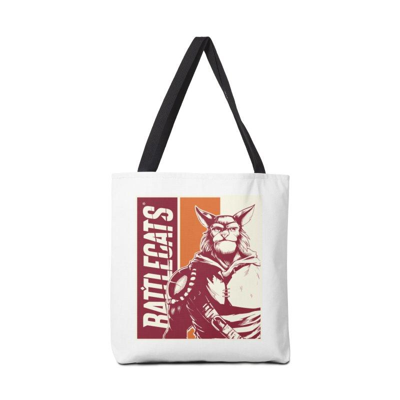 Battlecats - Mekkar Accessories Tote Bag Bag by Mad Cave Studios's Artist Shop