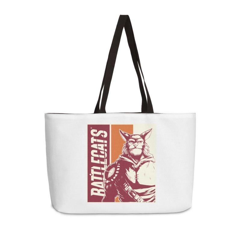 Battlecats - Mekkar Accessories Weekender Bag Bag by Mad Cave Studios's Artist Shop