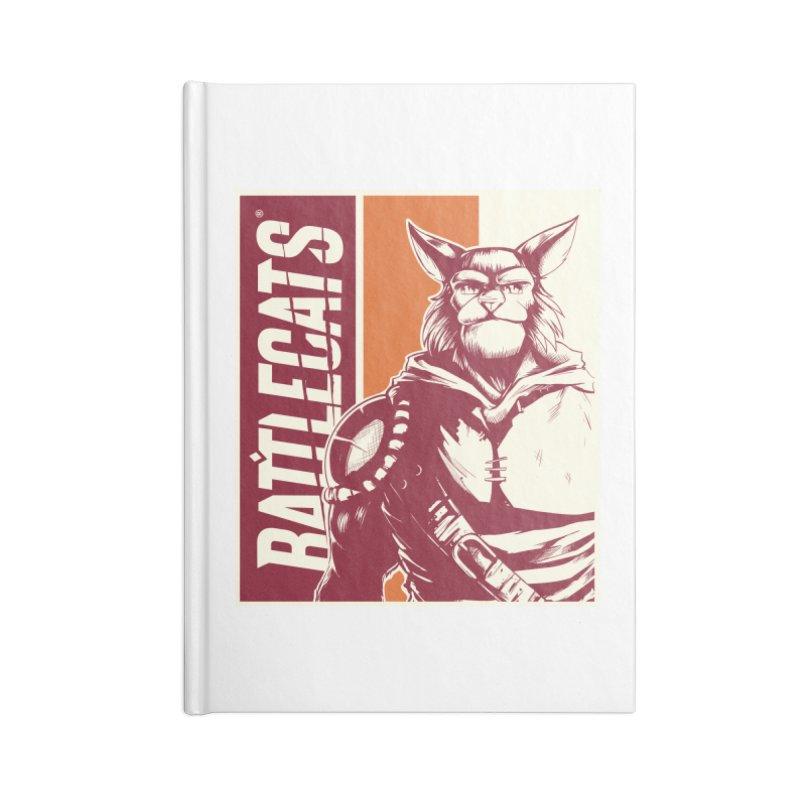 Battlecats - Mekkar Accessories Lined Journal Notebook by Mad Cave Studios's Artist Shop