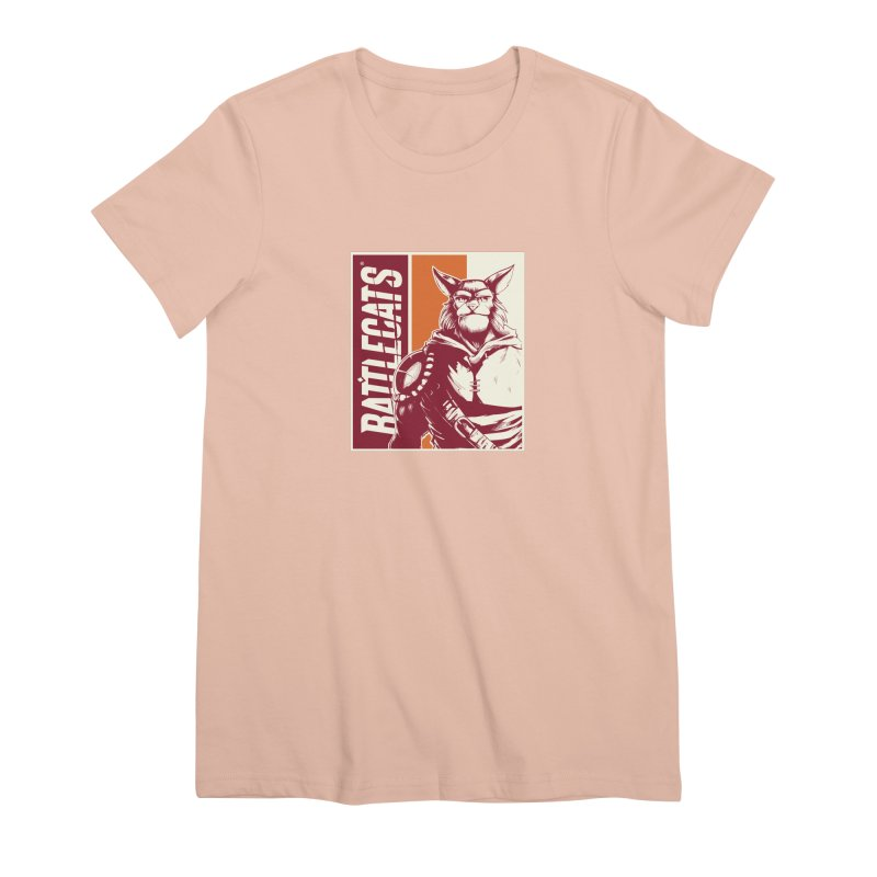 Battlecats - Mekkar Women's Premium T-Shirt by Mad Cave Studios's Artist Shop