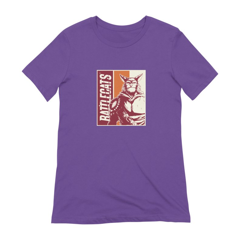 Battlecats - Mekkar Women's Extra Soft T-Shirt by MadCaveStudios's Artist Shop