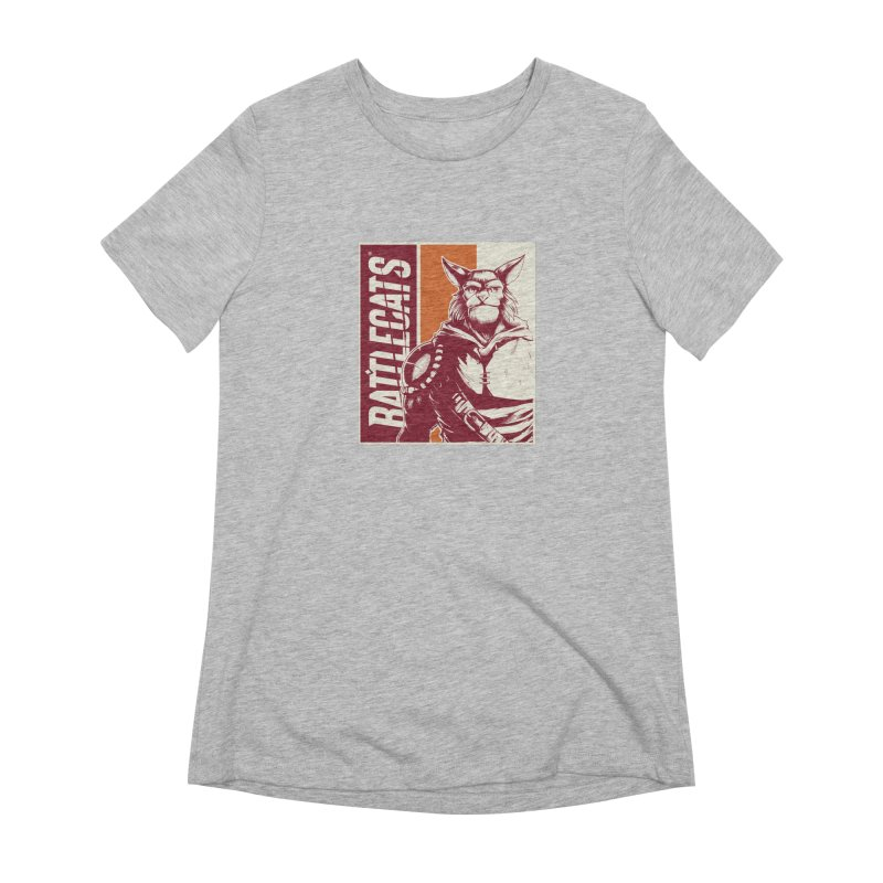 Battlecats - Mekkar Women's Extra Soft T-Shirt by Mad Cave Studios's Artist Shop
