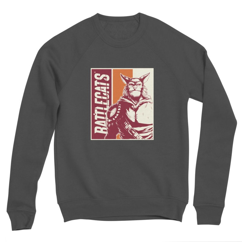 Battlecats - Mekkar Men's Sponge Fleece Sweatshirt by Mad Cave Studios's Artist Shop