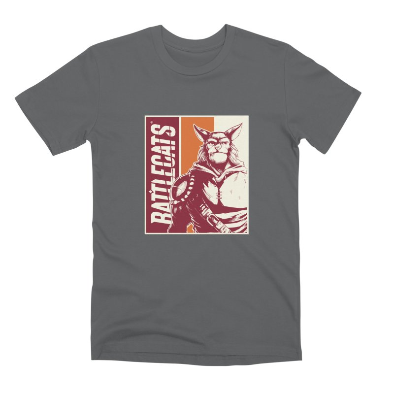 Battlecats - Mekkar Men's Premium T-Shirt by MadCaveStudios's Artist Shop