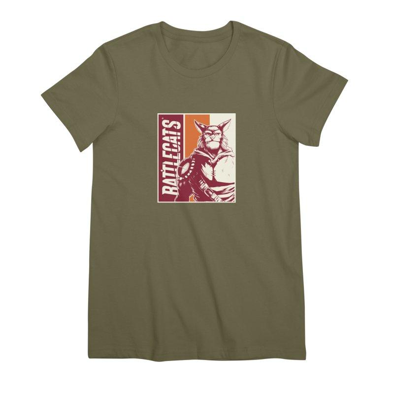 Battlecats - Mekkar Women's Premium T-Shirt by Mad Cave Studios's Artist Shop