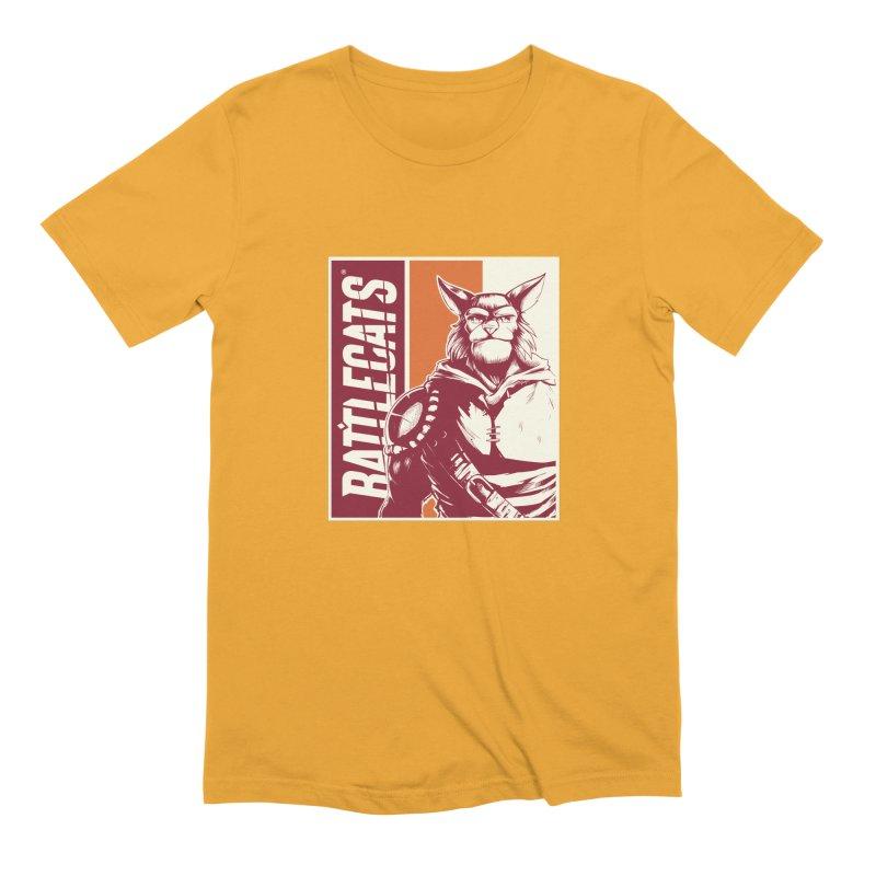 Battlecats - Mekkar Men's Extra Soft T-Shirt by MadCaveStudios's Artist Shop
