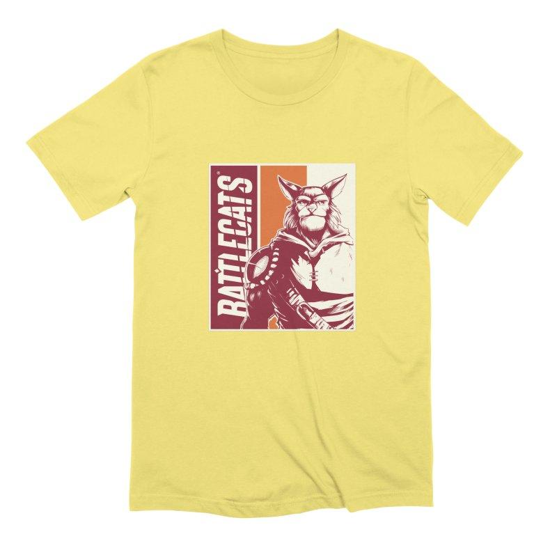 Battlecats - Mekkar Men's Extra Soft T-Shirt by Mad Cave Studios's Artist Shop