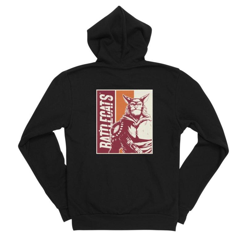 Battlecats - Mekkar Men's Sponge Fleece Zip-Up Hoody by MadCaveStudios's Artist Shop