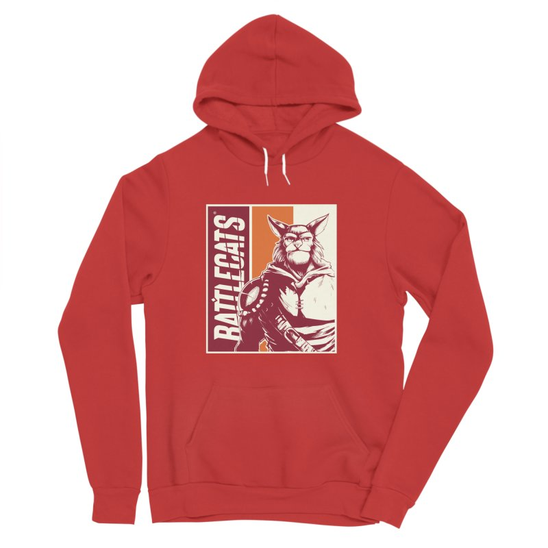 Battlecats - Mekkar Men's Sponge Fleece Pullover Hoody by Mad Cave Studios's Artist Shop