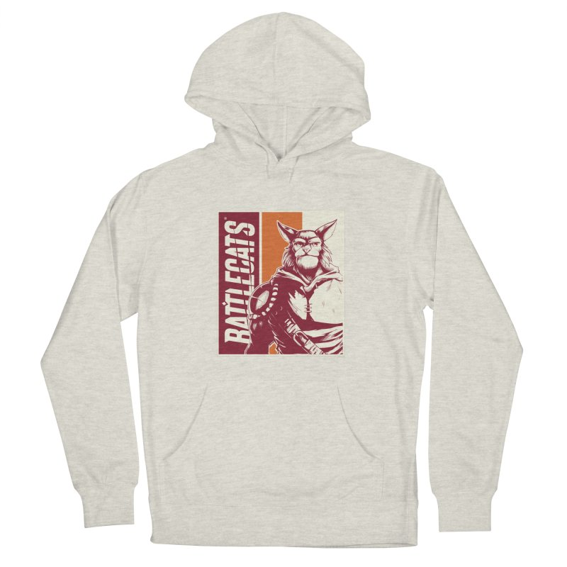 Battlecats - Mekkar Women's French Terry Pullover Hoody by Mad Cave Studios's Artist Shop