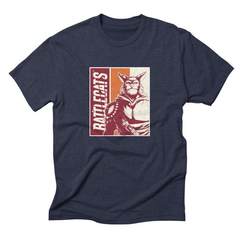 Battlecats - Mekkar Men's Triblend T-Shirt by Mad Cave Studios's Artist Shop