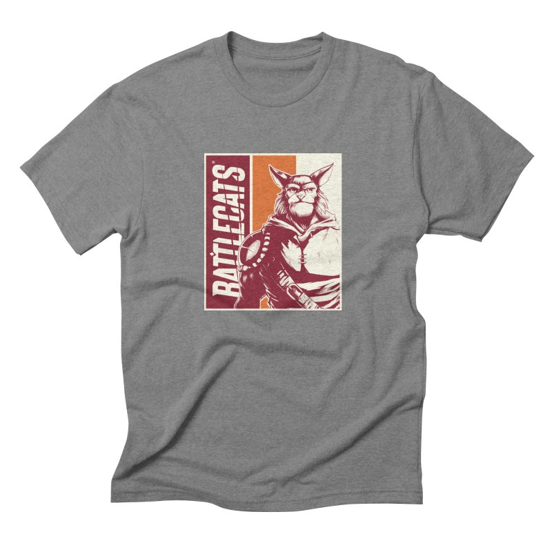 Battlecats - Mekkar Men's Triblend T-Shirt by MadCaveStudios's Artist Shop