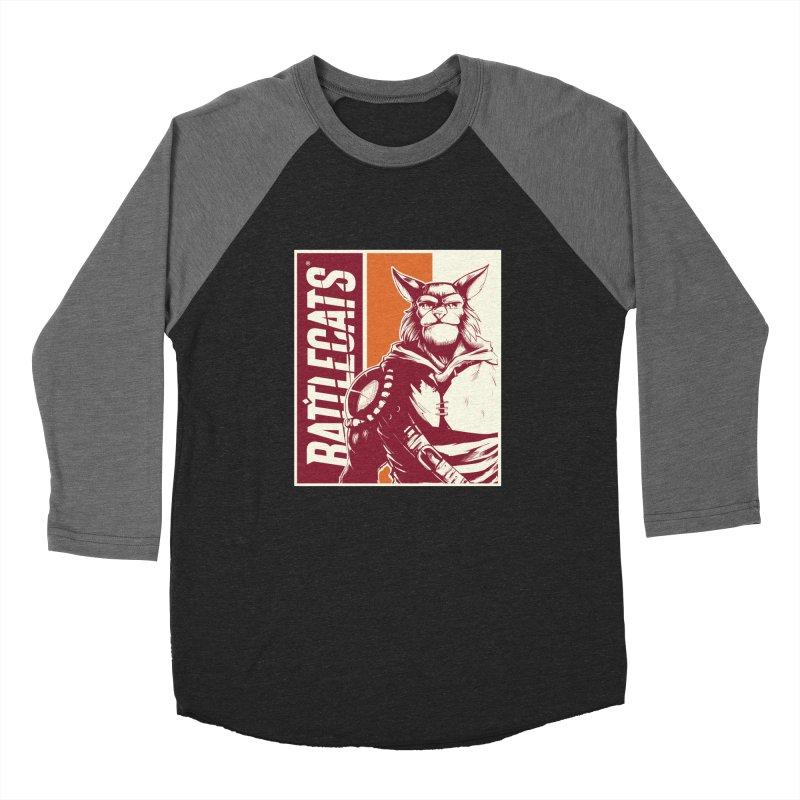 Battlecats - Mekkar Women's Baseball Triblend Longsleeve T-Shirt by MadCaveStudios's Artist Shop