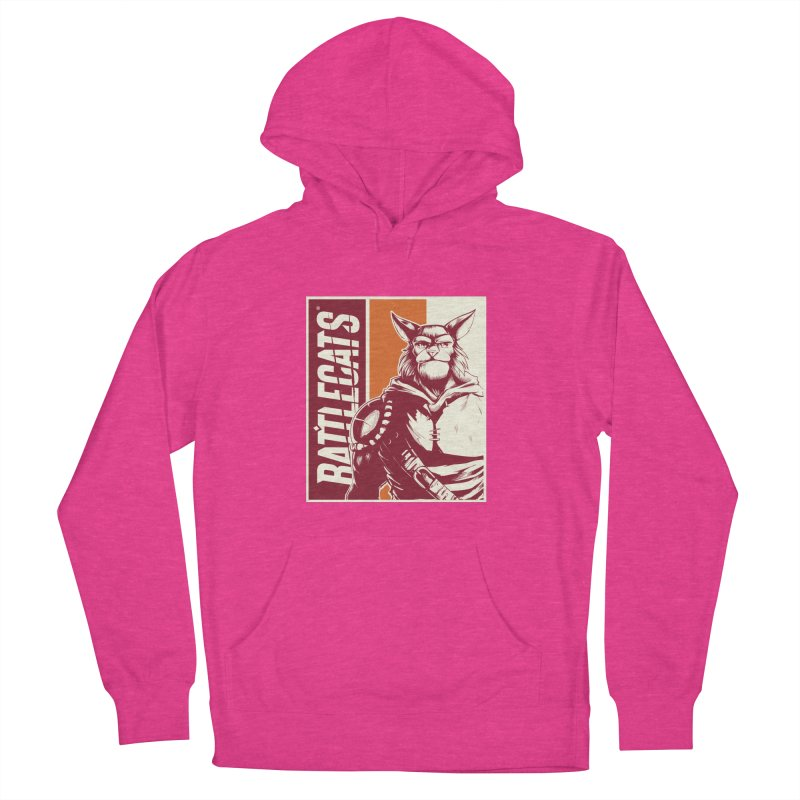 Battlecats - Mekkar Women's French Terry Pullover Hoody by MadCaveStudios's Artist Shop