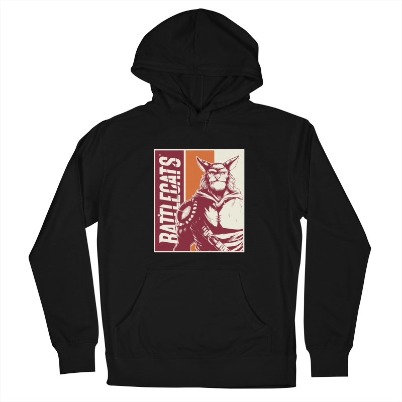 Battlecats - Mekkar Men's French Terry Pullover Hoody by Mad Cave Studios's Artist Shop